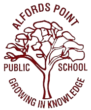 Alfords Point Public School logo
